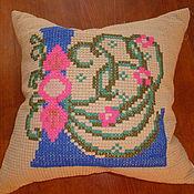 Для дома и интерьера ручной работы. Ярмарка Мастеров - ручная работа подушка диванная. Handmade.