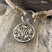 Зоотовары handmade. Livemaster - original item Medallion for a dog with a zodiac sign. Handmade.