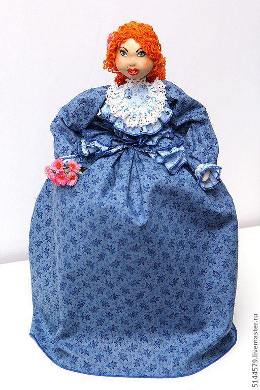 Кухня ручной работы. Ярмарка Мастеров - ручная работа. Купить Кукла на чайник  Мамзель. Handmade. Народная кукла, для кухни