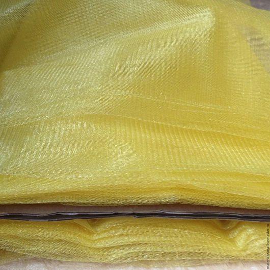 Шитье ручной работы. Ярмарка Мастеров - ручная работа. Купить фатин желтый. Handmade. Фатин светло-желтый, фатин ткань