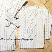 """Одежда ручной работы. Ярмарка Мастеров - ручная работа Детский свитер """"Айвори"""". Handmade."""