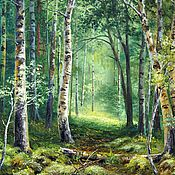 Картины и панно handmade. Livemaster - original item 18 oil painting Landscape _ Secret place _ author`s work. Handmade.