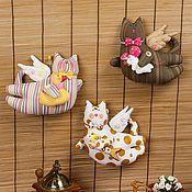 Куклы и игрушки ручной работы. Ярмарка Мастеров - ручная работа Мистер Летающий Кот. Handmade.