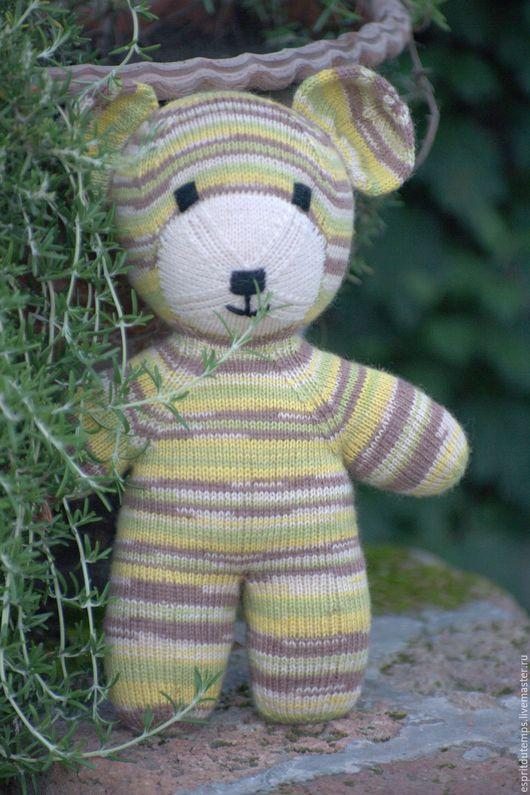 """Игрушки животные, ручной работы. Ярмарка Мастеров - ручная работа. Купить Вязаный мишка Тедди """"Louis"""". Handmade. Мишка тедди"""
