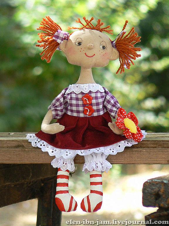 кукла Вишенка, Мягкие игрушки, Саки,  Фото №1
