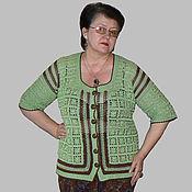 Одежда ручной работы. Ярмарка Мастеров - ручная работа Кофта на пуговицах. Handmade.