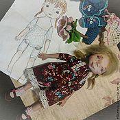 """Куклы и игрушки ручной работы. Ярмарка Мастеров - ручная работа Авторская кукла """"Марта"""". Handmade."""