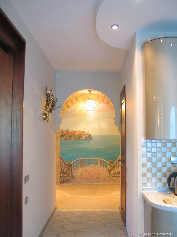Росписи стен, декор стен, Элементы интерьера, Москва,  Фото №1
