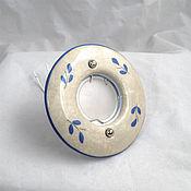 Для дома и интерьера handmade. Livemaster - original item Spot lamp with tile painting. Handmade.