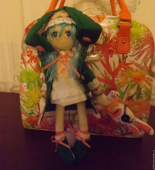 Человечки ручной работы. Ярмарка Мастеров - ручная работа. Купить Кукла аниме Ёшино. Handmade. Ешино, текстильная кукла