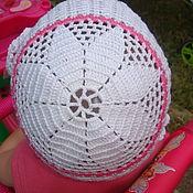 Работы для детей, ручной работы. Ярмарка Мастеров - ручная работа Детская шапочка, повязка и сумочка. Handmade.