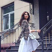 Одежда ручной работы. Ярмарка Мастеров - ручная работа Белая юбка. Handmade.