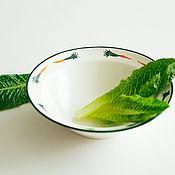 Посуда handmade. Livemaster - original item Carrots-couples ) Deep plate, handmade ceramics.. Handmade.