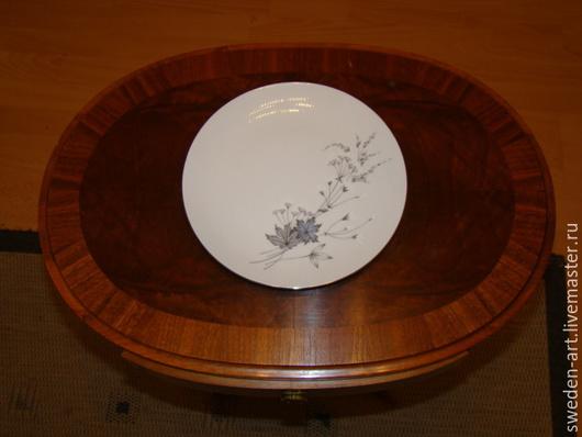 Винтажная посуда. Ярмарка Мастеров - ручная работа. Купить Bavaria-Фарфоровые тарелки 3 размеров-столовый сервиз. Handmade. Bavaria