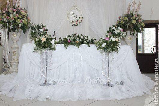 Свадебный декор зала `Цветочный`