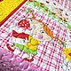 Пледы и одеяла ручной работы. Ярмарка Мастеров - ручная работа. Купить Одеяло детское лоскутное Лето-2, пэчворк. Handmade.