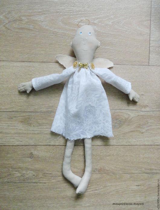 Коллекционные куклы ручной работы. Ярмарка Мастеров - ручная работа. Купить Кукла Ангел. Handmade. Белый, ангелочек, кукла интерьерная