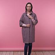 Одежда ручной работы. Ярмарка Мастеров - ручная работа Пальто клетка. Handmade.