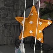 """Работы для детей, ручной работы. Ярмарка Мастеров - ручная работа Мобиль в коляску """"Жирафики"""". Handmade."""