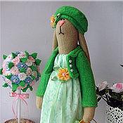 Куклы и игрушки ручной работы. Ярмарка Мастеров - ручная работа Зайка садовница. Handmade.