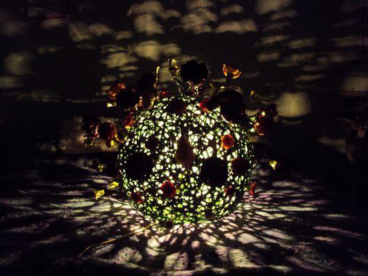 """Освещение ручной работы. Ярмарка Мастеров - ручная работа. Купить Лампа """"Клумба"""". Handmade. Светильник, подарок, патрон"""