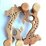 Мягкие игрушки ручной работы. Ярмарка Мастеров - ручная работа Жирафик (новая версия). Handmade.