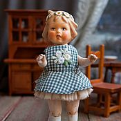Куклы и игрушки ручной работы. Ярмарка Мастеров - ручная работа Куколка из антикварных деталей Василиса. Handmade.