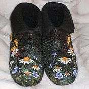 Обувь ручной работы. Ярмарка Мастеров - ручная работа Полуваленки (Полянка). Handmade.