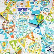 """Подарки к праздникам ручной работы. Ярмарка Мастеров - ручная работа Набор """"Воздушные шары"""". Handmade."""