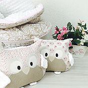 Для дома и интерьера ручной работы. Ярмарка Мастеров - ручная работа Текстильный комплект для детской комнаты. Handmade.