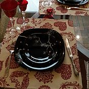 Для дома и интерьера ручной работы. Ярмарка Мастеров - ручная работа салфетки сервировочные Сердце. Handmade.