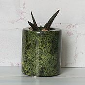 Для дома и интерьера handmade. Livemaster - original item Serpentine stone pot. Handmade.