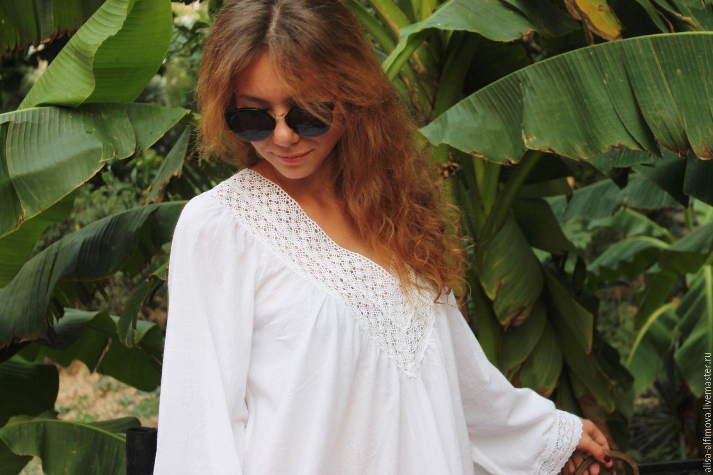 Summer tunic with lace, Dresses, Tashkent,  Фото №1
