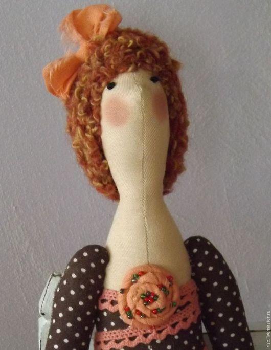 Куклы Тильды ручной работы. Ярмарка Мастеров - ручная работа. Купить Кукла-Тильда Модная терракота. Handmade. Кукла Тильда