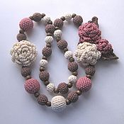 Украшения handmade. Livemaster - original item Boho beads knitted