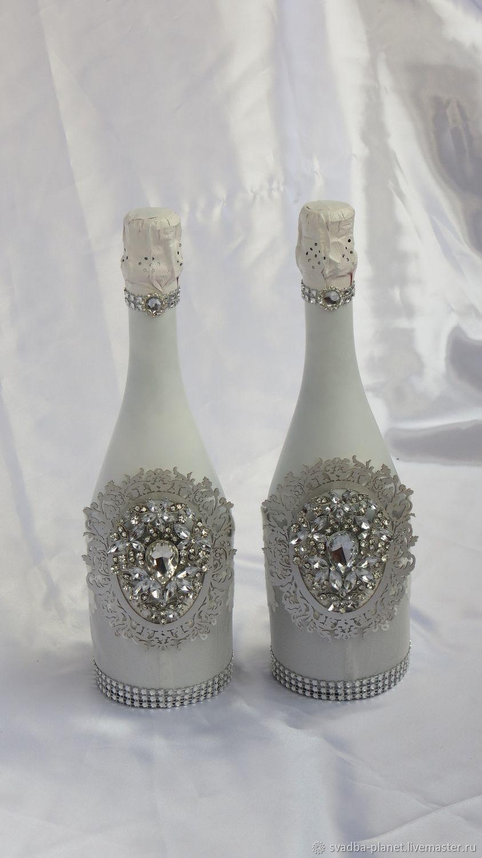 эскизы свадебных бутылок фото