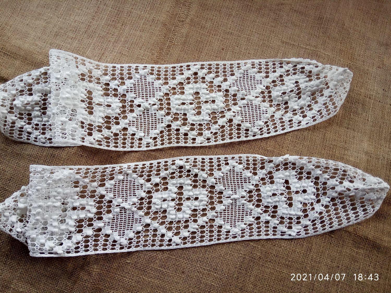 Openwork knitted pillow inserts set of 2 pcs, Vintage fabrics, Ekaterinburg,  Фото №1