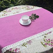 Для дома и интерьера handmade. Livemaster - original item Linen track with lace