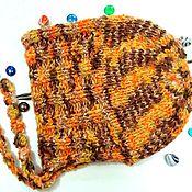 Аксессуары handmade. Livemaster - original item Knitted warm cap hood (cap,Capuchin). Handmade.