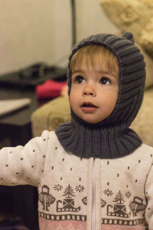 Детская шапочка шлем ручной работы.Шапочка Эльф, Шапки, Новосибирск,  Фото №1