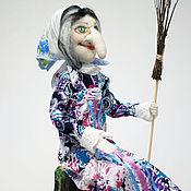 Куклы и игрушки handmade. Livemaster - original item Baba Yaga. Inexpensive gift. Handmade.