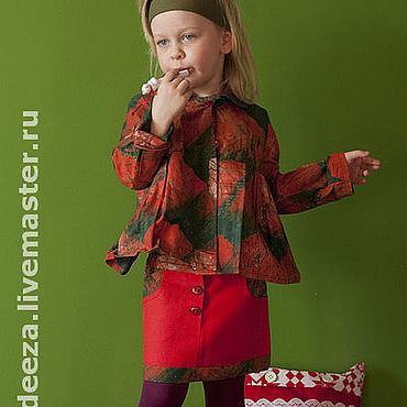 """Работы для детей, ручной работы. Ярмарка Мастеров - ручная работа Костюм """"Маленькая модница"""". Handmade."""