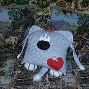 """Подарки к праздникам ручной работы. Ярмарка Мастеров - ручная работа Кот-подушка """"Доброе сердце"""". Handmade."""