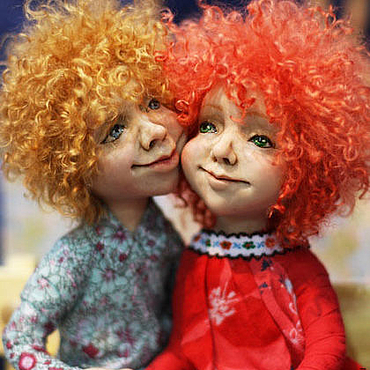 Куклы и игрушки ручной работы. Ярмарка Мастеров - ручная работа Под небом голубым. Handmade.