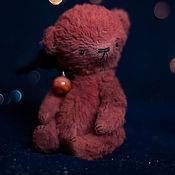 """Куклы и игрушки ручной работы. Ярмарка Мастеров - ручная работа Мишка тедди планета """"Mars"""". Handmade."""