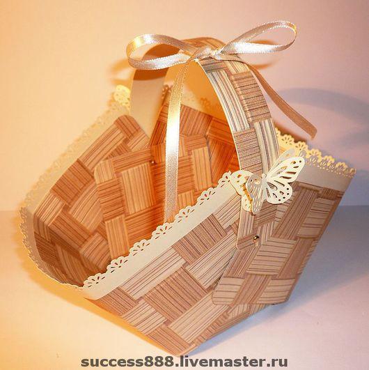 оригинальная упаковка, корзиночка, корзиночки, оригинальная упаковка для подарка