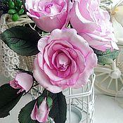 Украшения ручной работы. Ярмарка Мастеров - ручная работа Цветы из фоамирана. Handmade.