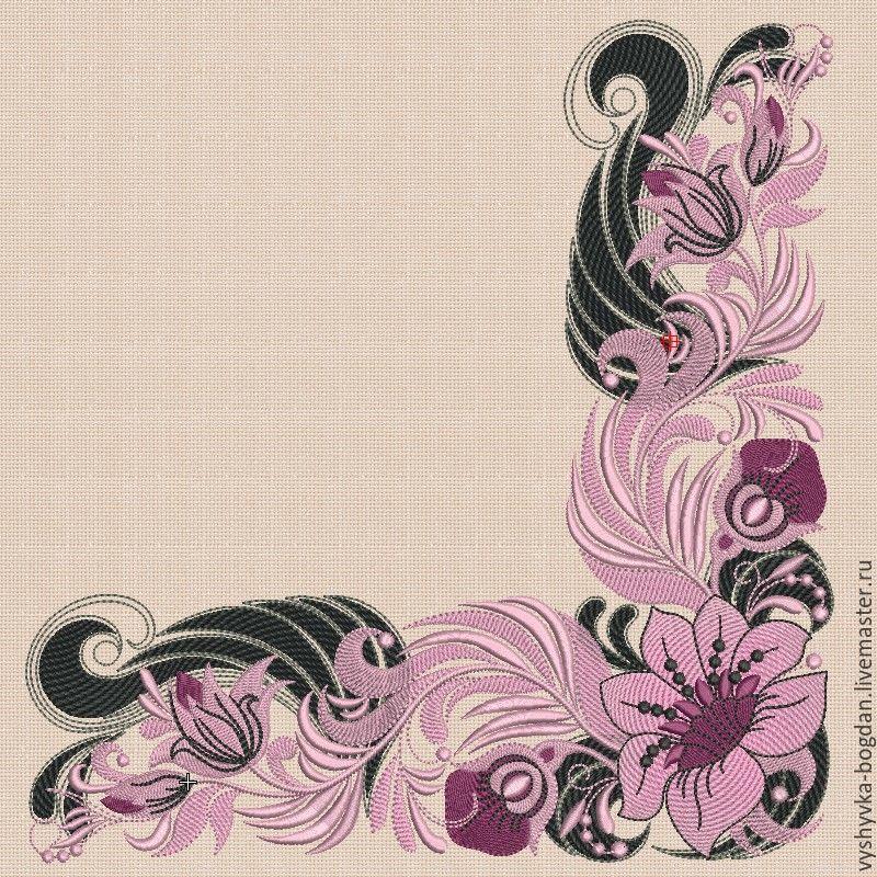 Set Of Machine Embroidery Designs By Khokhloma Art056057 Shop