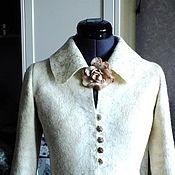 Одежда ручной работы. Ярмарка Мастеров - ручная работа Валяный жакет ..Для нежной и удивительной. Handmade.