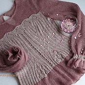 Одежда ручной работы. Ярмарка Мастеров - ручная работа Вязаная блуза-корсет. Handmade.